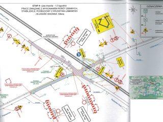 Miniaturka: Informacja o zamknięciu drogi
