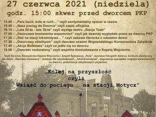 Miniaturka: OTWARCIE DWORCA PKP w Kozubszczyźnie