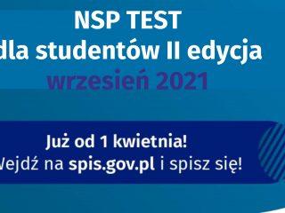 Miniaturka: Konkurs NSP Test Student – test wiedzy o Narodowym Spisie Powszechnym 2021 dla studentów szkół wyższych II edycja