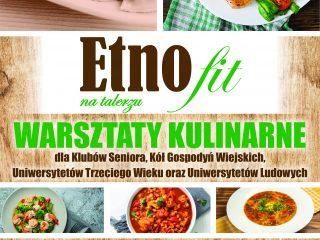 Miniaturka: Warsztaty kulinarne dla Klubów Seniora, Kół Gospodyń Wiejskich, Uniwersytetów Trzeciego Wieku oraz Uniwersytetów Ludowych.